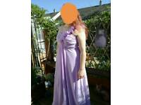 3 lilac bridesmaid dresses