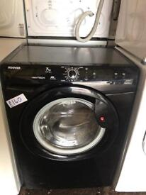 EXCELLENT HOOVER BLACK 7KG WASHING MACHINE- PLANET 🌎 APPLIANCE
