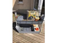 Small pet cage for Hamster, Guinea Pig etc