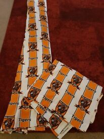 Hull City football club, Tiger curtains.