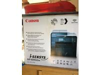 Canon black and white printer and scanner