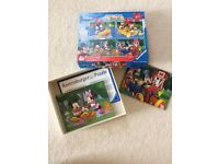 5 Mickey Mouse Puzzles