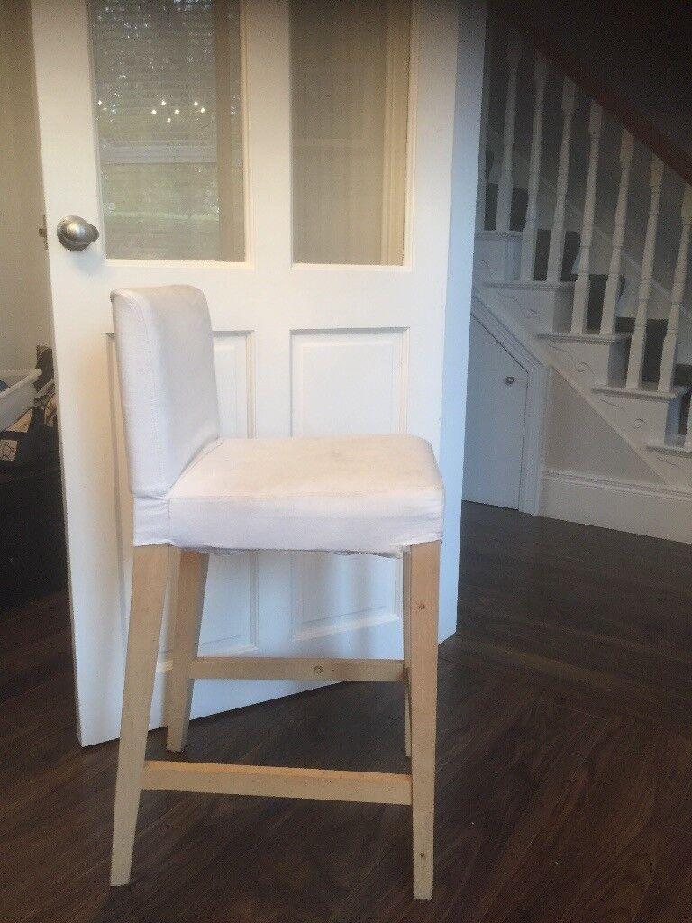 Ikea bar stools x 4