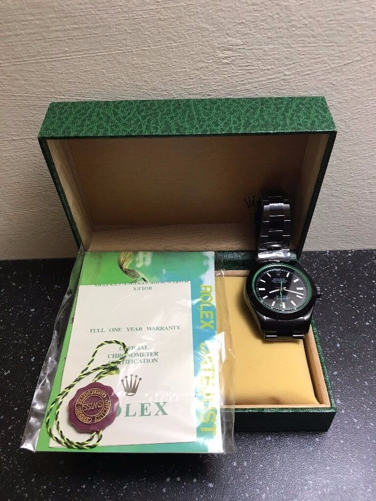 Rolex Oyster Perpetual Milgauss, not submariner! Present, FREE SHIPPING