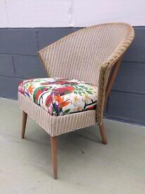 Vintage Retro Lloyd Loom Chair