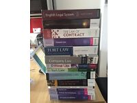 Law textbooks and statutes from 2012-2014 City law school class (10£/book or £100 for all)