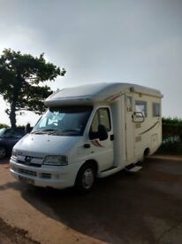 PEUGOT AUTOSLEEPER INCA 2006 2 BIRTH MOTORHOME 38400 MILES REDUCED BY £2000