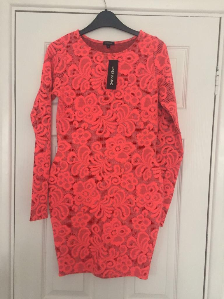 RIVER ISLAND Bodycon dress size 10in Newcastle, Tyne and WearGumtree - Bodycon dress size 10 bnwt From a smoke free pet free home