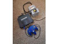 Nintendo 64 console and 12 Games