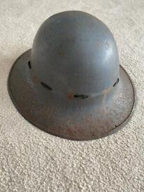 Genuine WW2 army helmet