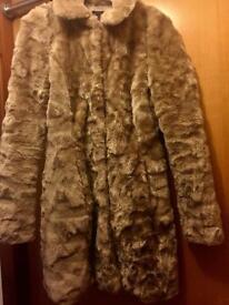 Lipsy London fur coat