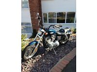 Harley Davidson sportster XLH 883 anniversary