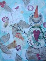 WHIMSY PAINT AND SIP SOCIAL ARTWORKING