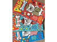 Pugly books set by Pamela Butchart
