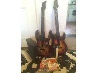 XBox 360 with Guitar Hero and Lips Bundle - Party Package