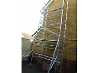Minimax access tower | 5.7m working height | Used only three times