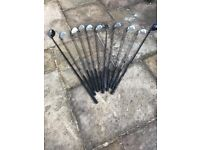 Set of 11 Wilson Pro and Donnay Golf Clubs for Sale