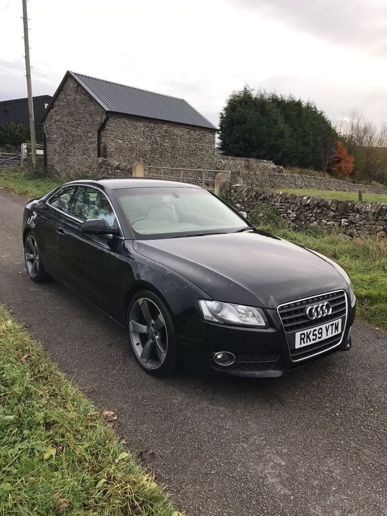 AUDI A5 2.0 TDI COUPE 59 REG 12 MONTHS MOT JUST HAD TIMING BELT WATER PUMP