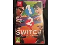 1 2 switch Nintendo switch game £25