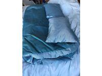 Ikea Lyksele denim sofa bed cover
