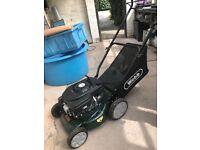 Webb petrol lawnmower used once