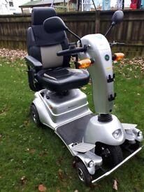 Quingo Classic-Plus-Sport, road registered Mobility Scooter