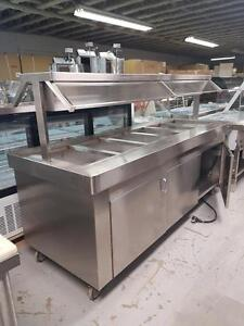 BUFFET HOT STEAM TABLE