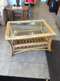 Large bambo coffee table