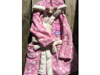 PEPPA PIG DRESSING GOWN AGE 2-3