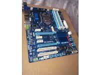 i7-3770k CPU & GA-Z77-D3H Motherboard, 4 Cores/ 8 Threads, 3.5GHZ-3.9GHZ, SUPERB