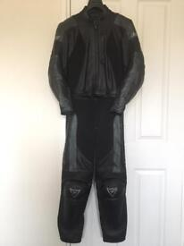 Dainese M4 ladies two piece motorcycle leather suit