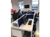 call centre desk / pods 6 man pod