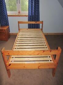 2 single/bunk beds