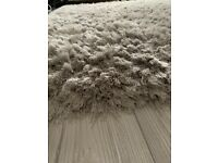 Giant deep pile rug