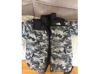Boys large north face puffa jacket
