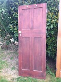 3 x Victorian/Edwardian doors