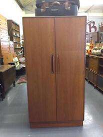 Vintage G Plan Wardrobe. Retro storage.