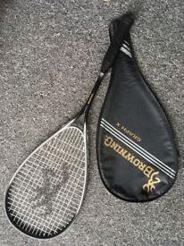 """Browning"" squash racquet"
