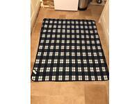 Fleece picnic rug/blanket- New with tags