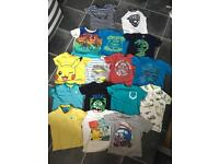 Boys 2-3 years T-shirt/polo bundle x16