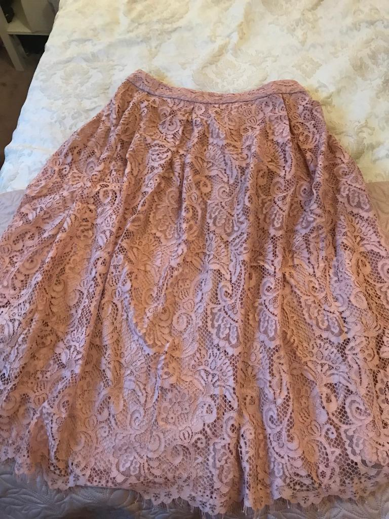 Pink net skirt MARKS AND SPENCER trendy size 12
