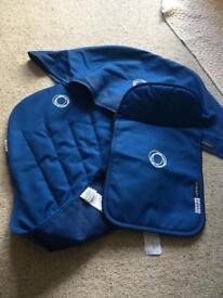 Bugaboo Cameleon fabric set blue