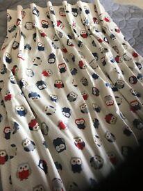 Curtains for sale (nursery curtains owl print)