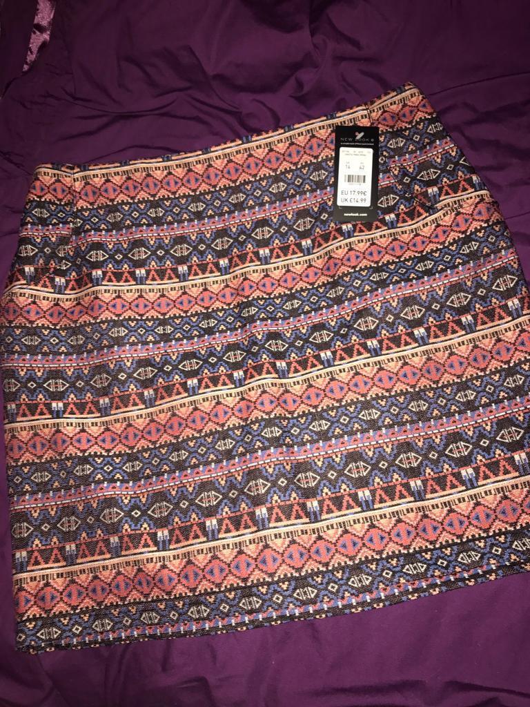 Women's size 14 new look skirt BNWT