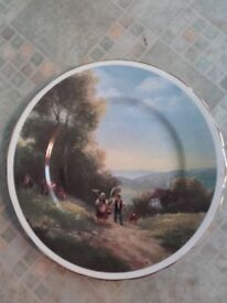 Charm Of Country Life. Start of another day by Elizabeth Poletz-Kallch plate