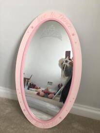 Gorgeous girls Next pink princess mirror