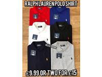 Wholesale joblot bundle box Ralph Lauren polo shirts not Gucci dsquared Lacoste
