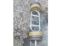 barbell weights set over 40 kg