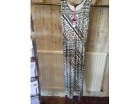 Aztec style jumpsuit. New with tags