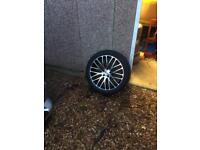 Vw transporter t5 wheels and tyres 20 inch